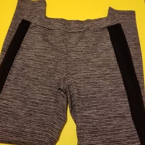 Express, gray black, yoga type pants,small